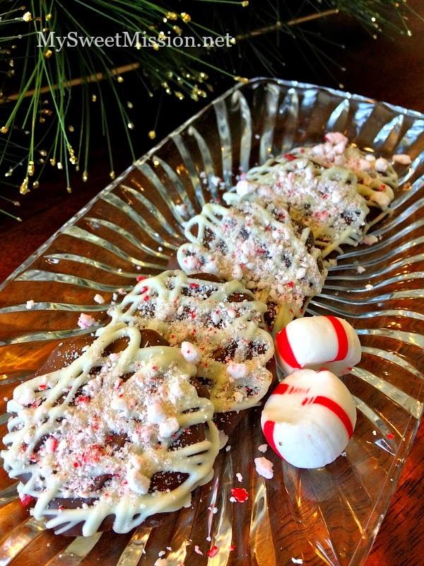 Ritz Peppermint Puff Patties by MySweetMission.net