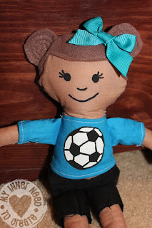 Rag Doll Soccer Player