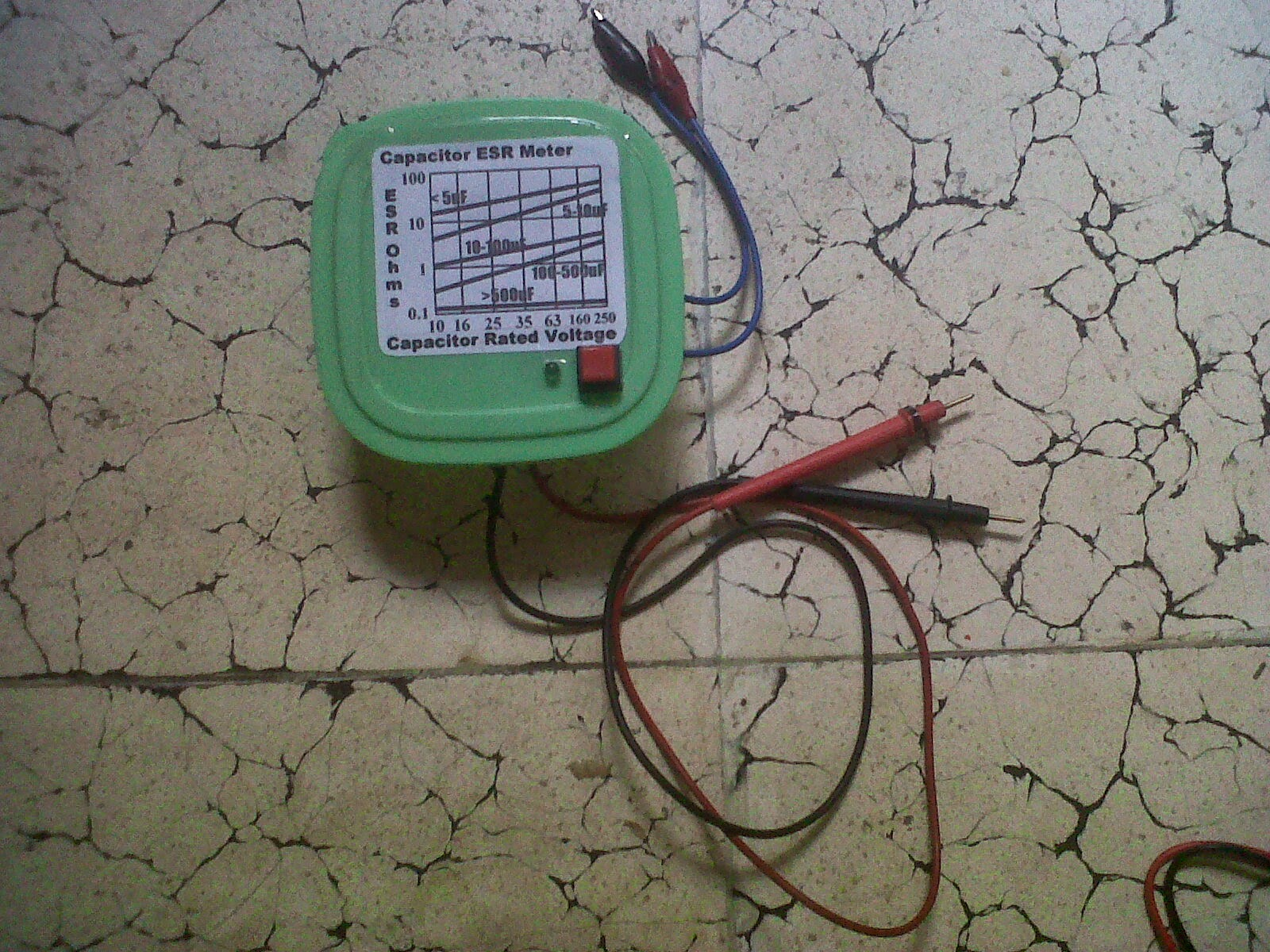 Homemade ESR Meter