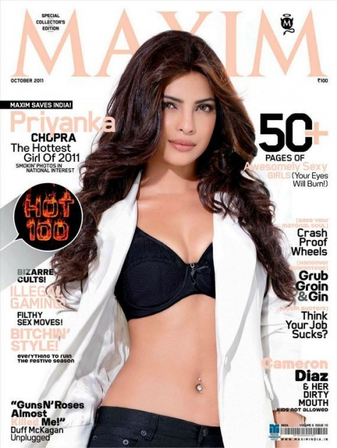 Priyanka chopra hot-photoshoot for Maxim-india