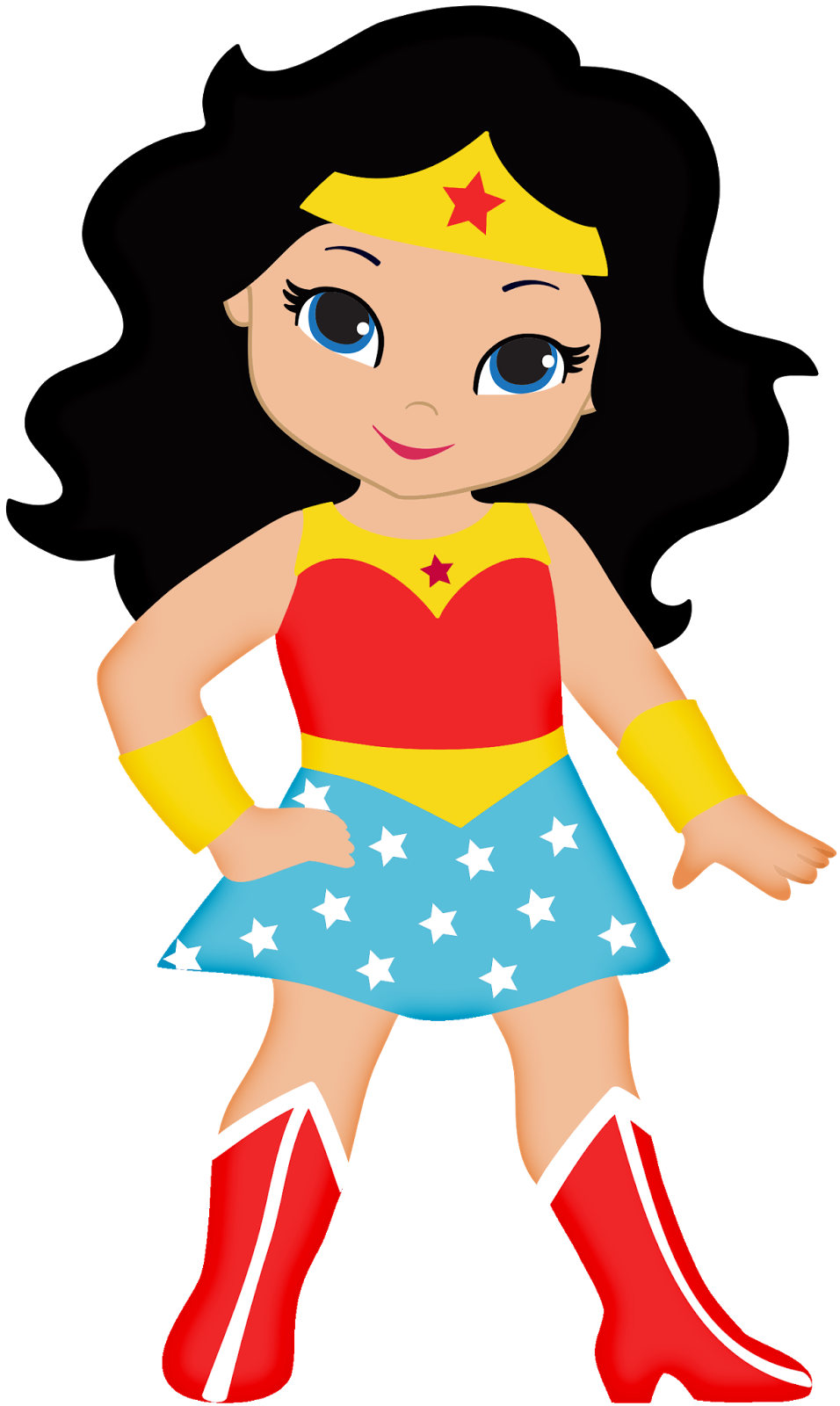Wonder Woman Baby Clipart Oh