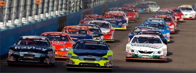 The NASCAR K&N Pro Series West takes the green flag at Phoenix International Raceway.