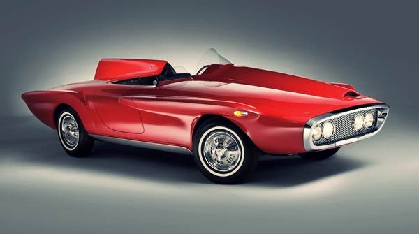 1960 Plymouth XNR-concept-side