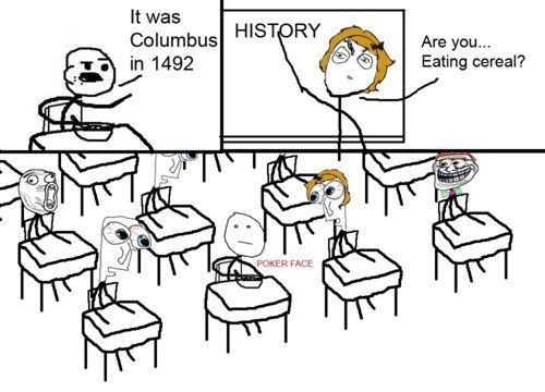 Cereal Guy Is So Cereal In The History Class