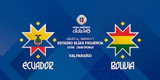 Ver Ecuador vs. Bolivia en vivo