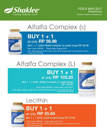 Shaklee : Promosi Feb & Mac 2017