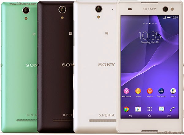 sony xperia c3 color