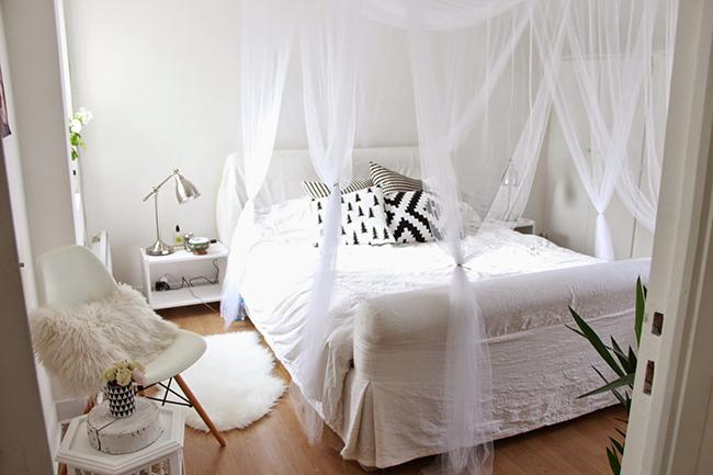 Boho deco chic antes y despu s 1 dormitorio 2 opciones - Chambre scandinave ...