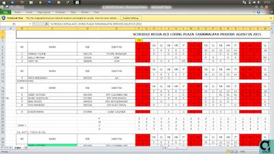 Cara membuka file ODS dengan Microsoft Excel serta penjelasan File ODS | AzisJS