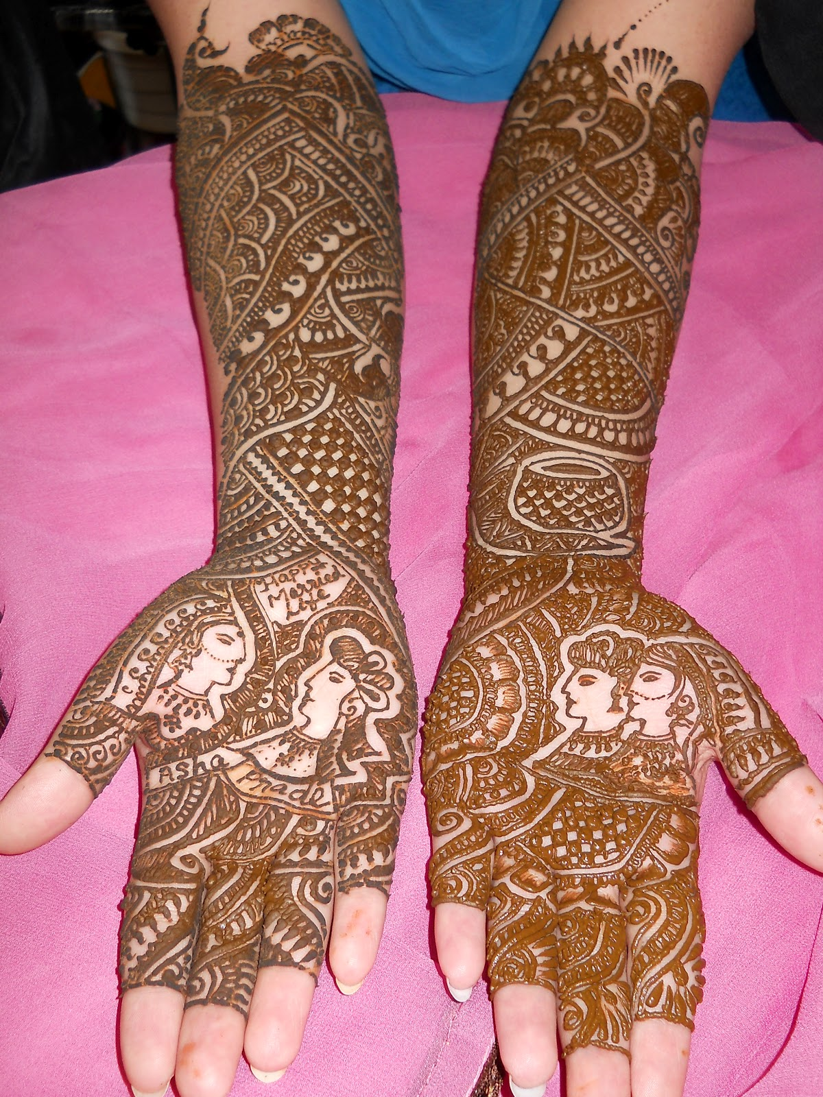 Mehndi Designs Dulhan : Best mehndi designs eid collection dulhan