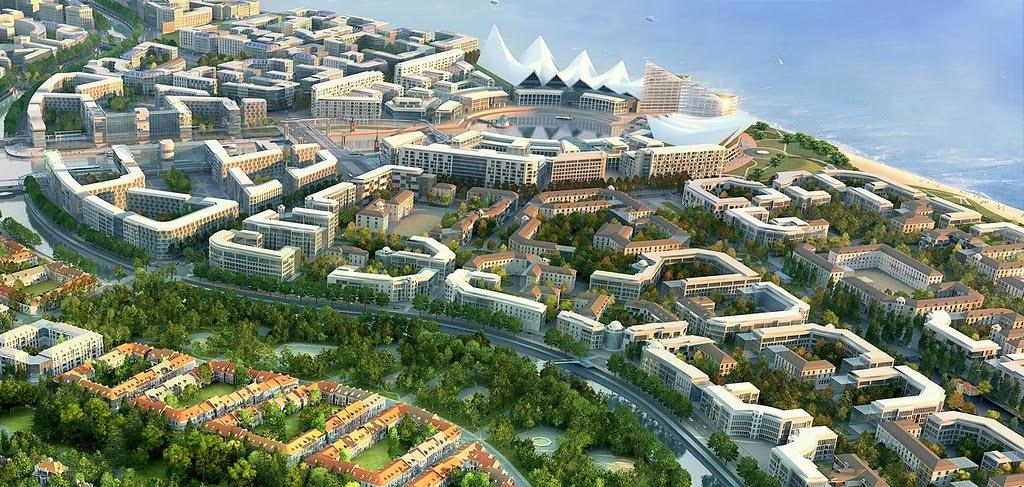 Формирование центров городов и их комплексная застройка