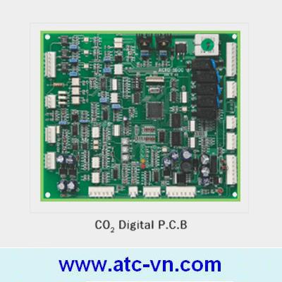 Board điều khiển kỹ thuật số Màn hàn CO2 Digital Taeshin