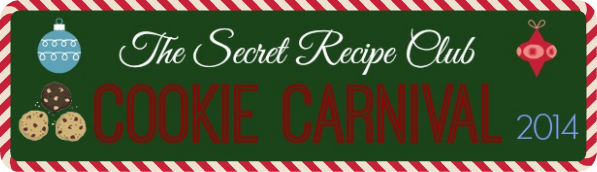 The Secret Recipe Club Cookie Carnival - stop by and check out all our fabulous cookie recipes! #SecretRecipeClub #recipe #cookies