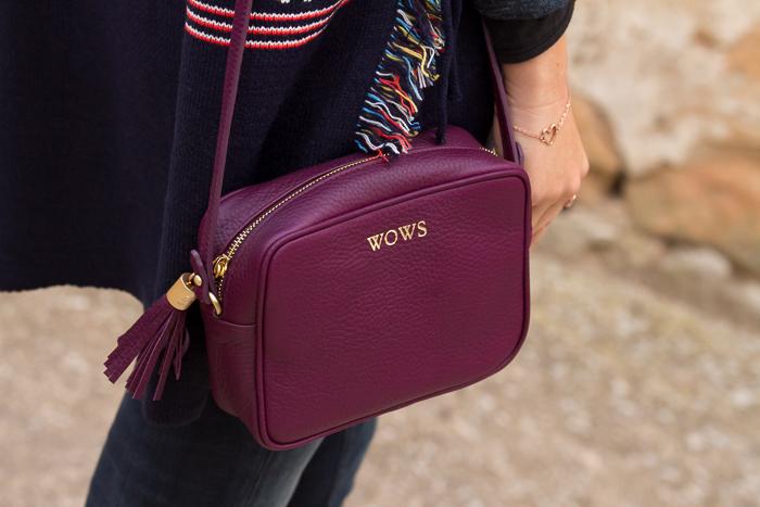Complementos bolsos personalizados con iniciales