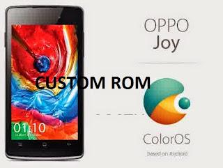 Kumpulan Custom Rom Oppo Joy Terbaik dan Terbaru