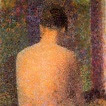 Model d'esquena (George Pierre Seurat)