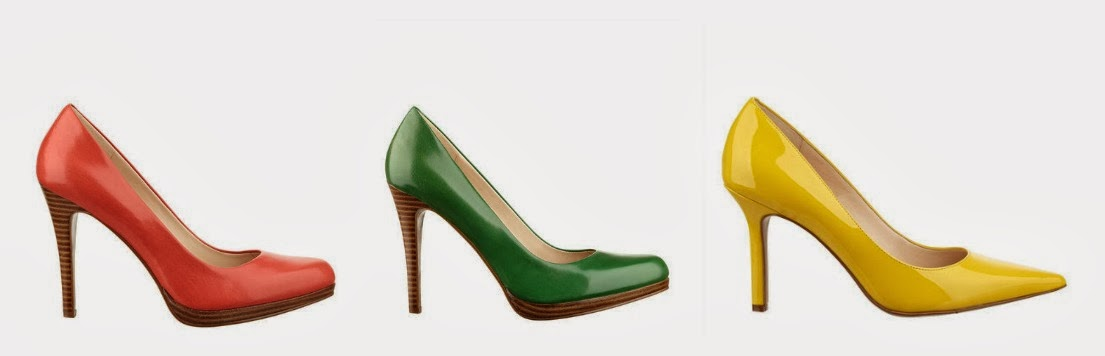 Colored pumps, comfortable pumps from Nine West, Regola pump, Rocha Pump replacement