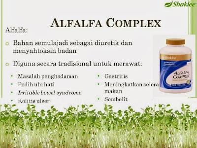 Alfalfa untuk masalah set penghadaman
