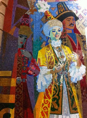 kazakhstan almaty metro, central asian tours, uzbek art craft tours