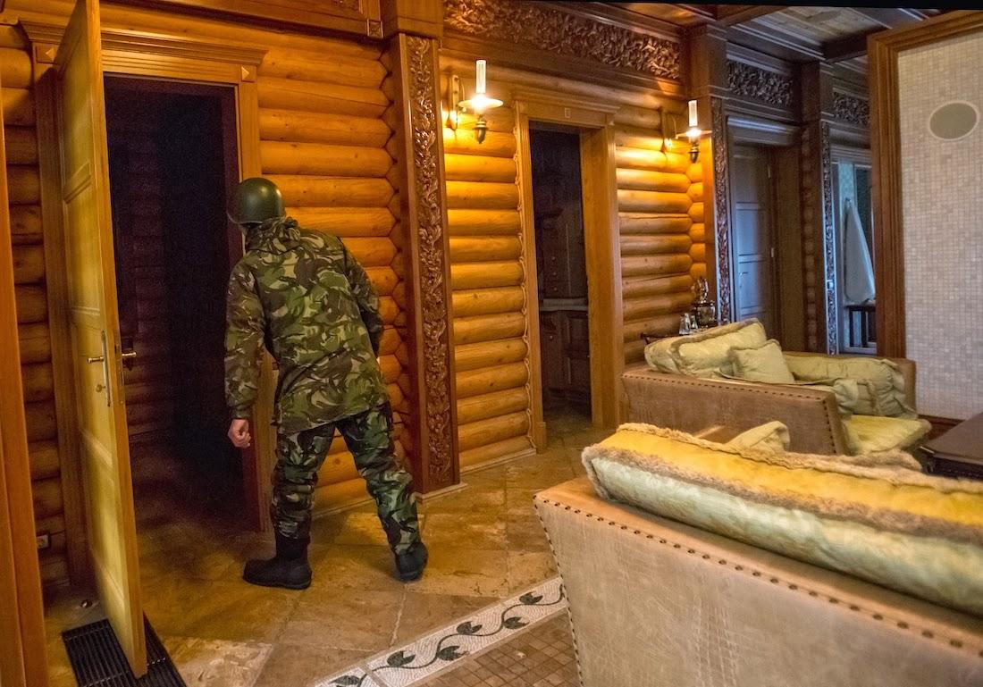 Межигорье, музей коррупции