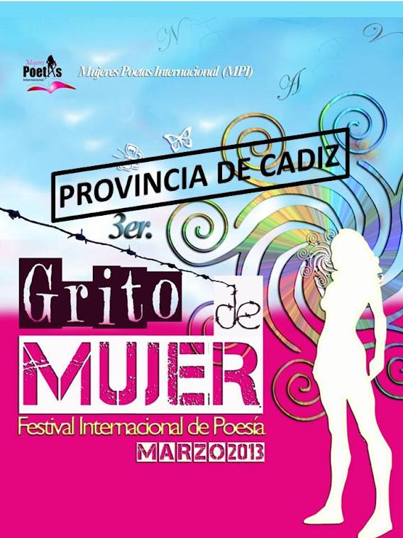 3º Festival Grito de Mujer, 2013