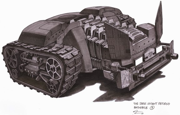 batmobile tank batman robin frank miller the dark knight returns
