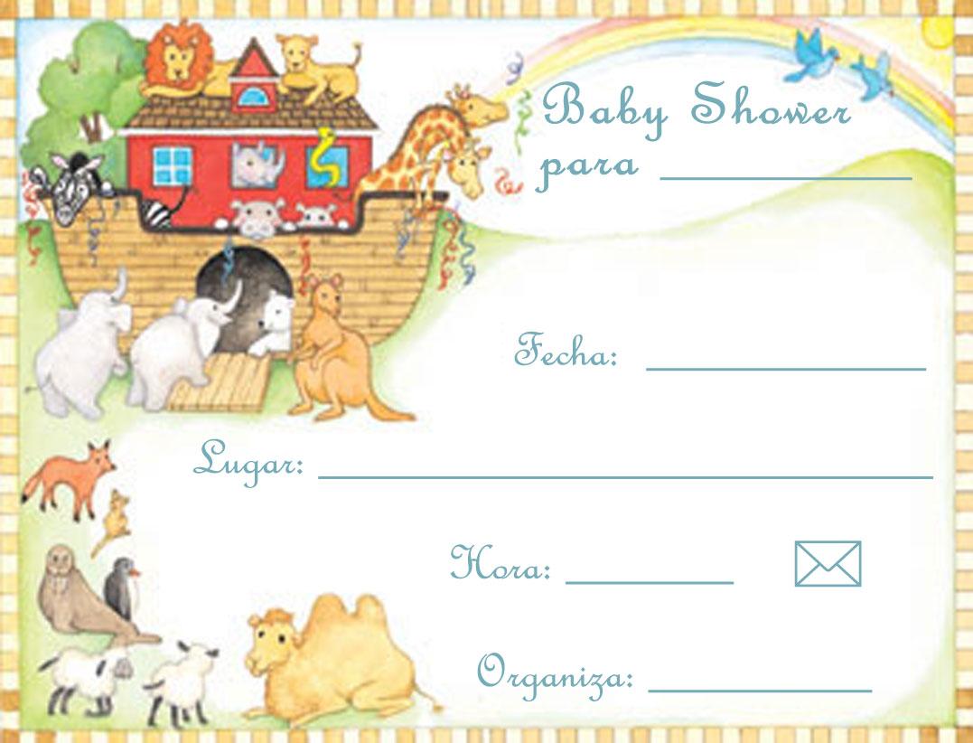 Invitaciones de Baby Shawer para Imprimir