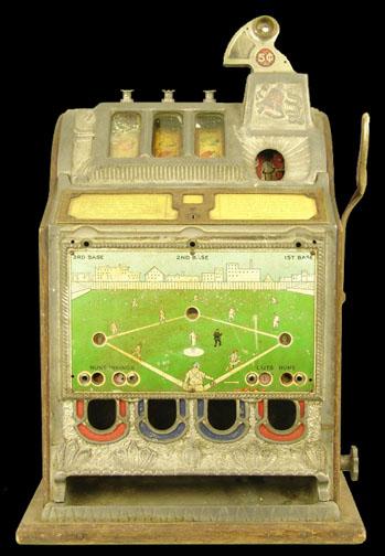 Mills slot machines history gambling magazine jokes