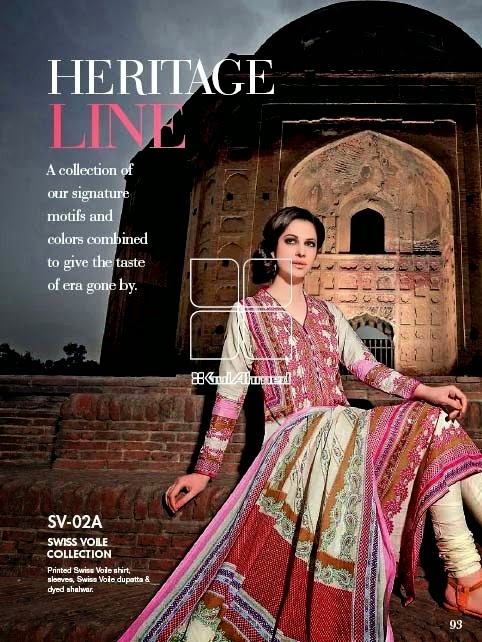 Latest Summer Collection by Gul Ahmed Vol-2