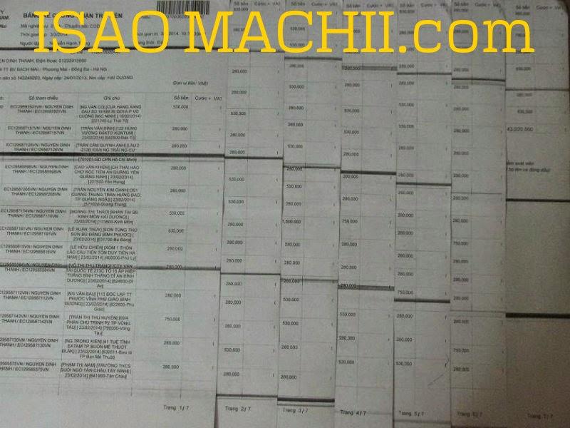 danh sách khách thanh toán mua lăn khử mùi loại tốt của isao machii