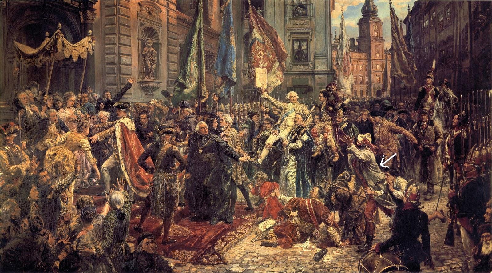 "Konopka jest jedną z postaci na obrazie Matejki p.t. ""Konstytucja 3"