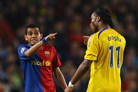 Barcelona vs Chelsea 2012