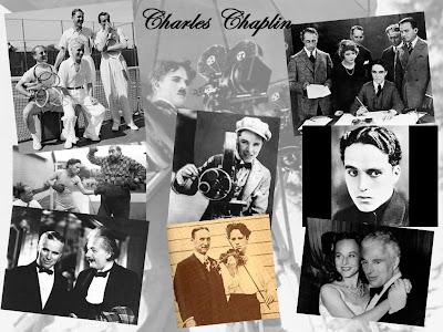 Conjunto de imágenes de Charles Chaplin