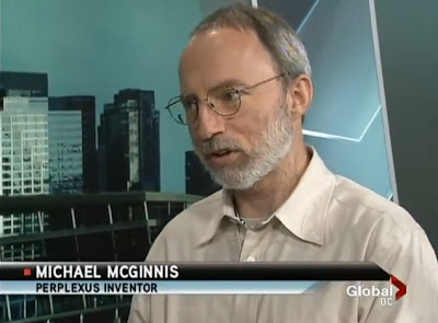 Michael McGinnis, Perplexus inventor
