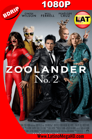 Zoolander 2 (2015) Latino HD BDRIP 1080P ()