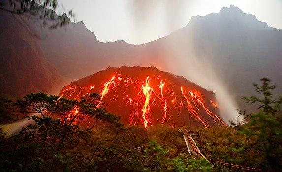 Gunung Kelud Meletus 2014