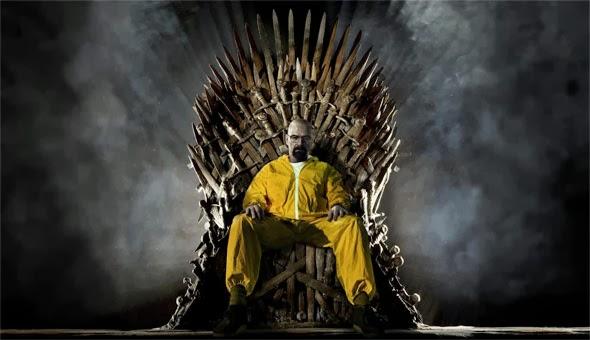 Walter White Breaking Bad en el trono de hierro - Juego de Tronos en los siete reinos