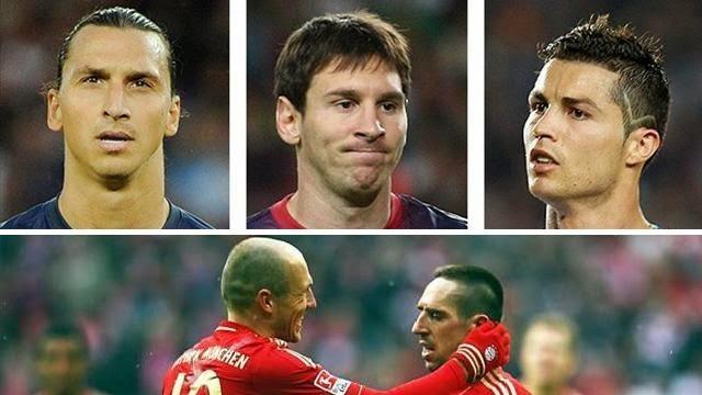 أفضل 5 لاعبين في العالم من وجهة نظر هازارد