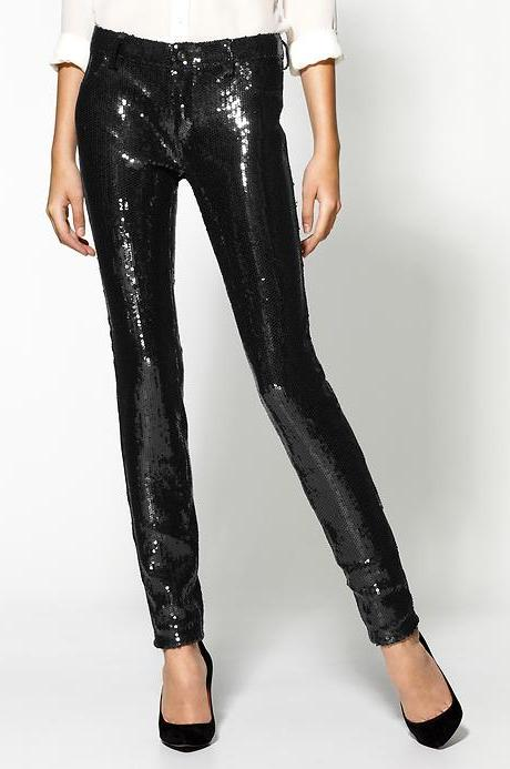 Raquel Daily Blog Trend Alert Sequin Trousers Shorts