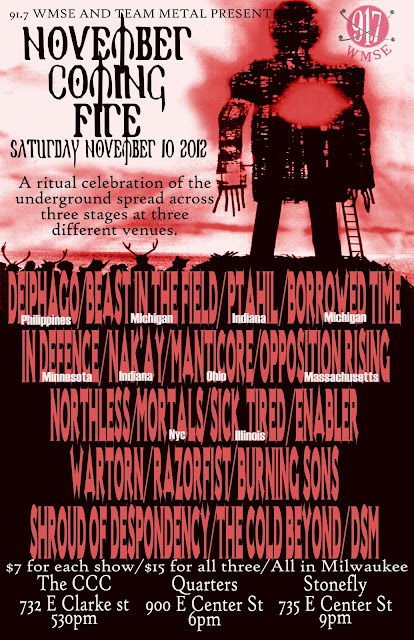 November Coming Fire Fest