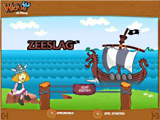 Wickie de viking zeeslag spel