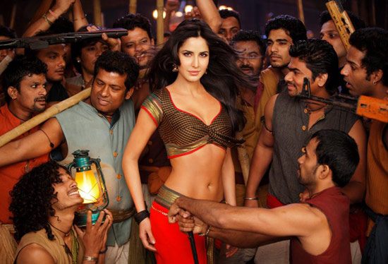 Katrina Kaif Wallpaper in Agneepath as Chikni Chameli for Item Song