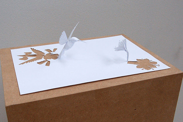 Sculptures Cut from a Single Piece of Paper