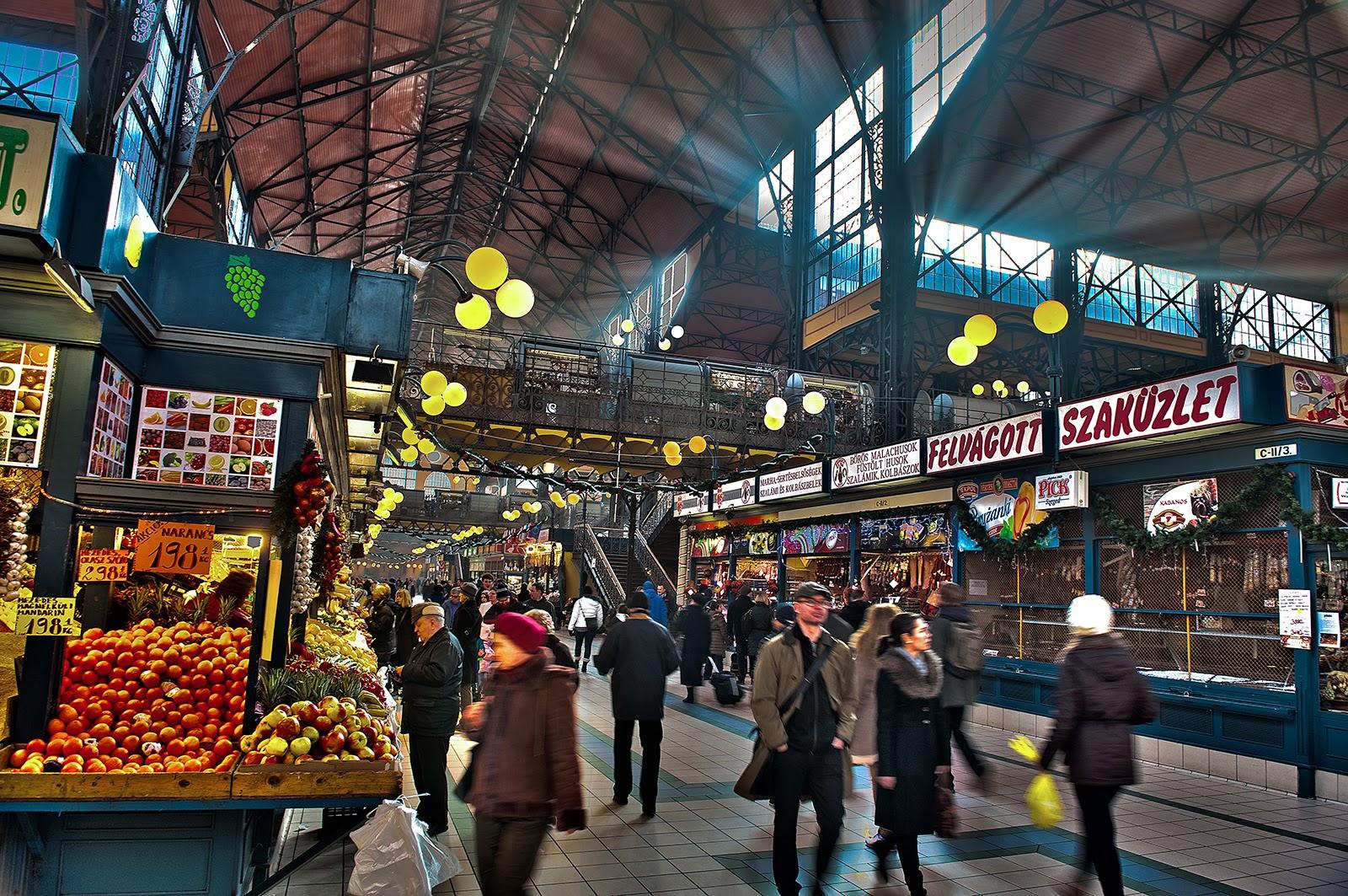 Budapest, Hungary, Great Market Hall