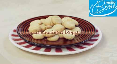 Biscotti alla maionese ricetta Parodi per Molto Bene su Real Time