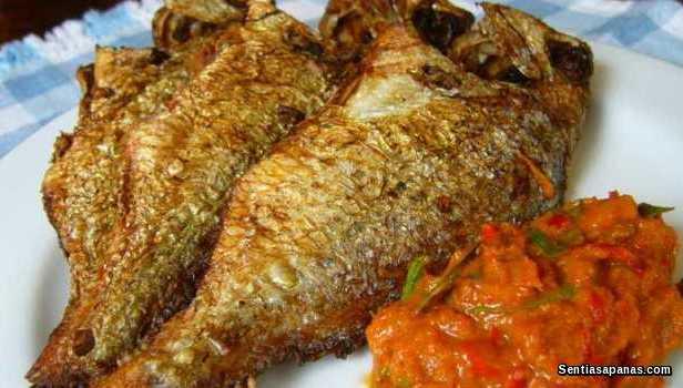 Ikan Goreng Garing