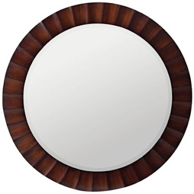 Bold Bulls Eye Mirror