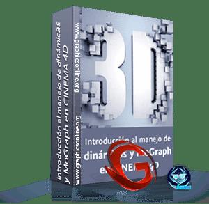 Introducción al manejo de dinámicas y MoGraph en CINEMA 4D