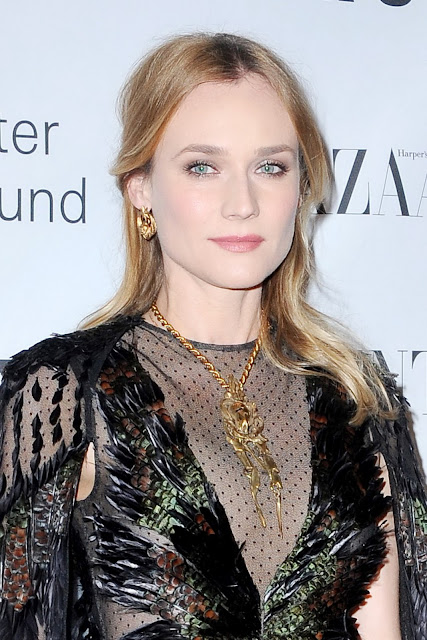 Actress, Model, @ Diane Kruger - Lincoln Center Corporate Fund Black Tie Gala honouring Valentino