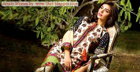 Asim Jofa Winter - Fall Dress Collection 2014 – 2015